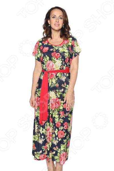 Платье Лауме-Лайн «Трогательный вид». Цвет: темно-синий