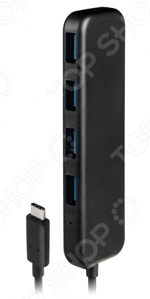 Разветвитель для компьютера Rombica Type-C Hub 3 ports usb 3 0 hub type c thunderbolt 3 to rj45 100mbps gigabit ethernet lan adapter data type c wired network card for macbook