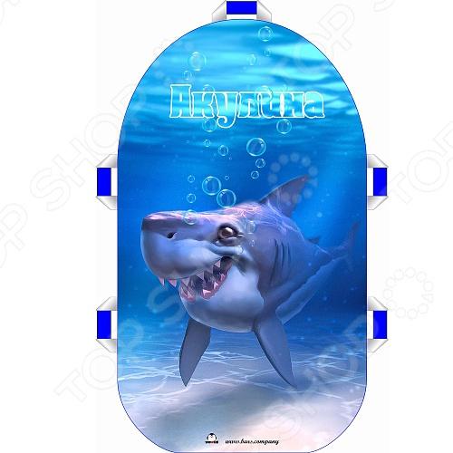 Санки-ледянки Snowkid «Акулина» санки санки ледянки 7 0027577
