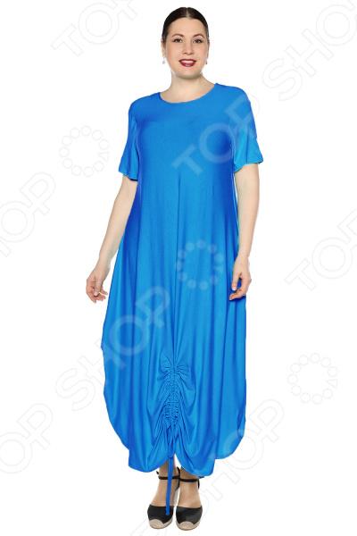 Платье Kidonly «Романтичный день». Цвет: васильковый