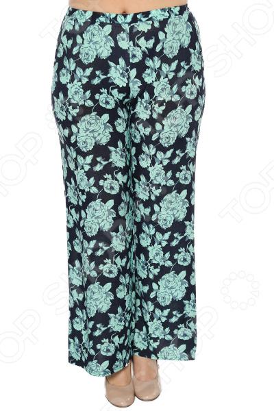 Брюки Матекс «Цветочная поляна». Цвет: зеленый брюки матекс меркурий