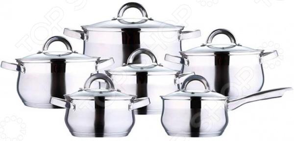 Набор посуды Wellberg WB-1424