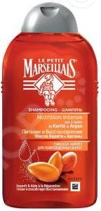 Шампунь для поврежденных волос DIVAGE Le Petit Marseillais «Масла Карите и Арганы»