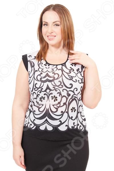 Блуза Лауме-Лайн «Корица» Цвет: бежевый