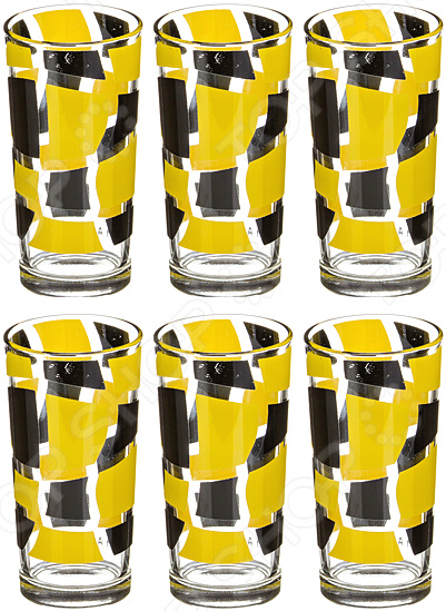 Набор стаканов «Дуэт» 381-708