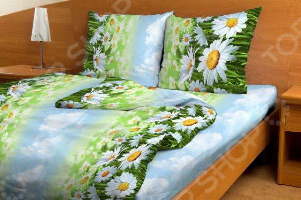 Комплект постельного белья Fiorelly «Ромашка». 1,5-спальный