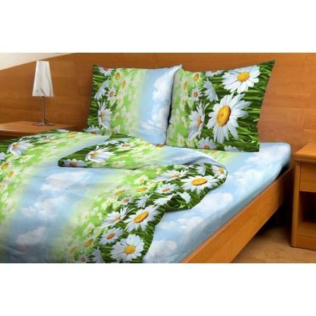 Купить Комплект постельного белья Fiorelly «Ромашка». 1,5-спальный