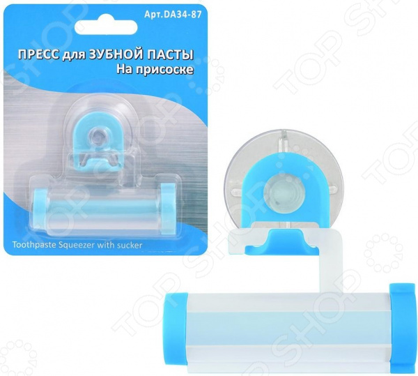 Пресс для зубной пасты на присоске Мультидом DA34-87 диспенсер для зубной пасты touch n brush