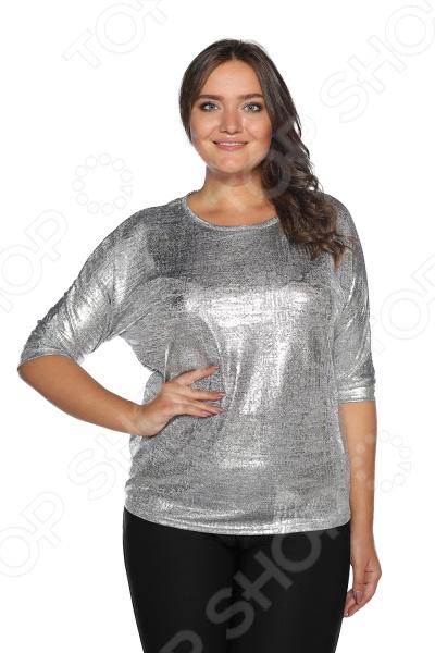 Блуза Blagof «Мелодия души». Цвет: серебряный блуза blagof блуза бабочка цвет красный