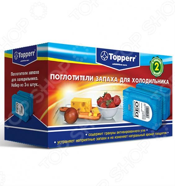 Поглотитель запаха для холодильника Topperr 3105