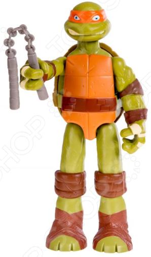 Фигурка супергероя Nickelodeon Ninja Turtles. Mickelangelo игрушка фигурка nickelodeon рафаэль