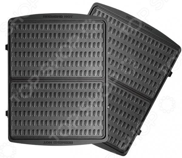 Панель для мультипекаря Redmond «Тонкие вафли» RAMB-119 мультипекарь redmond rmb 616 3 700вт черный серебристый