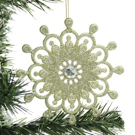 Купить Елочное украшение Christmas House «Снежинка» 1694622