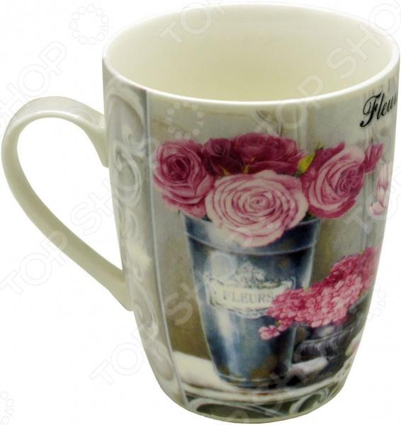 Кружка Gift'n'home «Парижские цветы» кружка gift n home парижские цветы 350 мл