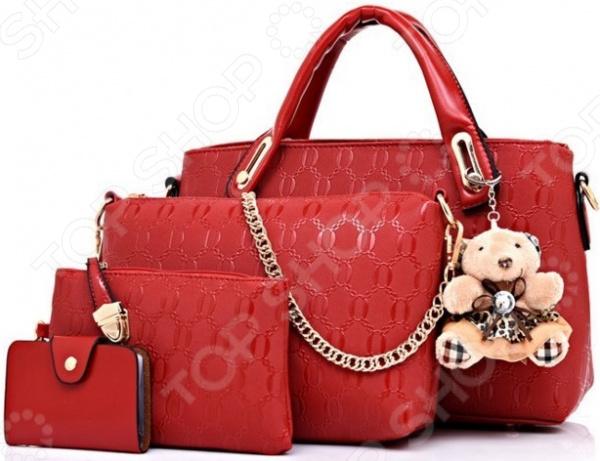 Комплект дамских сумок Ricotio «4в1»