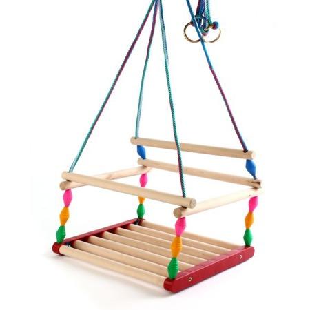 Купить Качели для детей Деревянные игрушки - Владимир «Ветерок» СУС6. В ассортименте