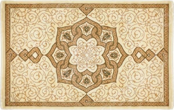 Ковер Kamalak tekstil «Самарканд». Цвет: кремовый, коричневый самарканд квартиру ул гагарина