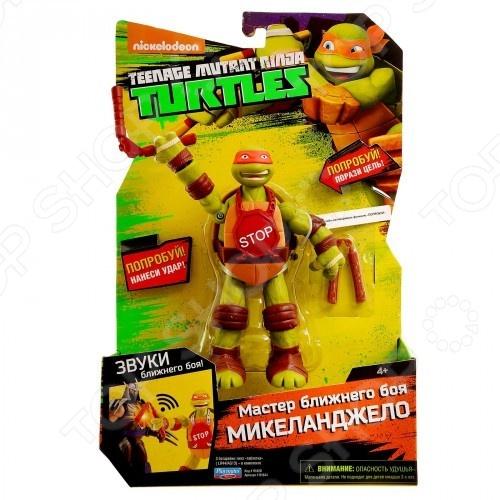 Игрушка-фигурка Nickelodeon со звуковыми эффектами. В ассортименте nickelodeon игрушка детская черепашки ниндзя игрушки мялки 6 шт в наборе