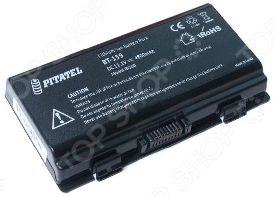 Аккумулятор для ноутбука Pitatel BT-159 аккумулятор topon top x51 11 1v 4800mah для asus pn a32 t12 a32 x51 90 nqk1b1000y