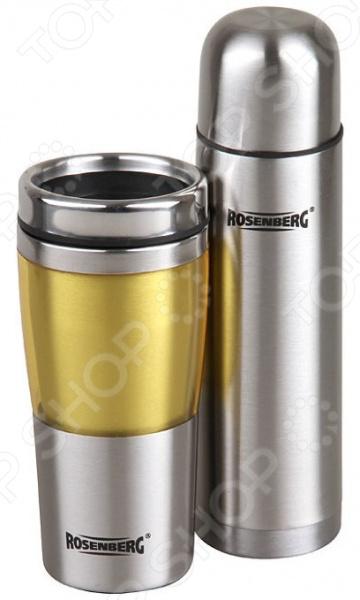 Набор подарочный: термос и термокружка Rosenberg RSS-420103