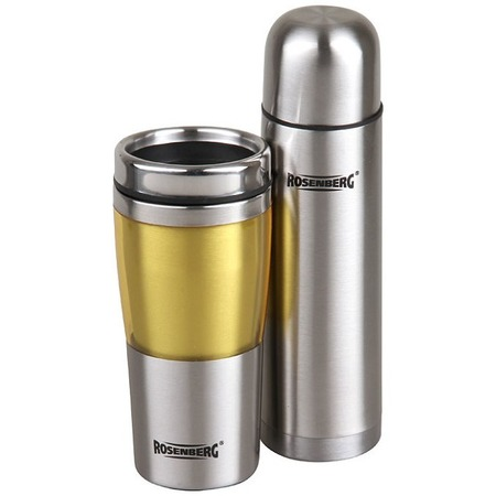 Купить Набор подарочный: термос и термокружка Rosenberg RSS-420103