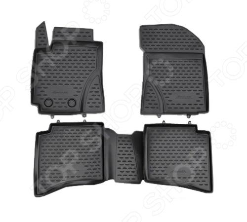 Комплект ковриков в салон автомобиля Novline-Autofamily Geely MK Cross 2011-2012 4 geely mk mk2 cross hatchback car light controller