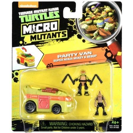 Купить Игровой набор Nickelodeon Party Van. Super Ninja Mikey&Bebop