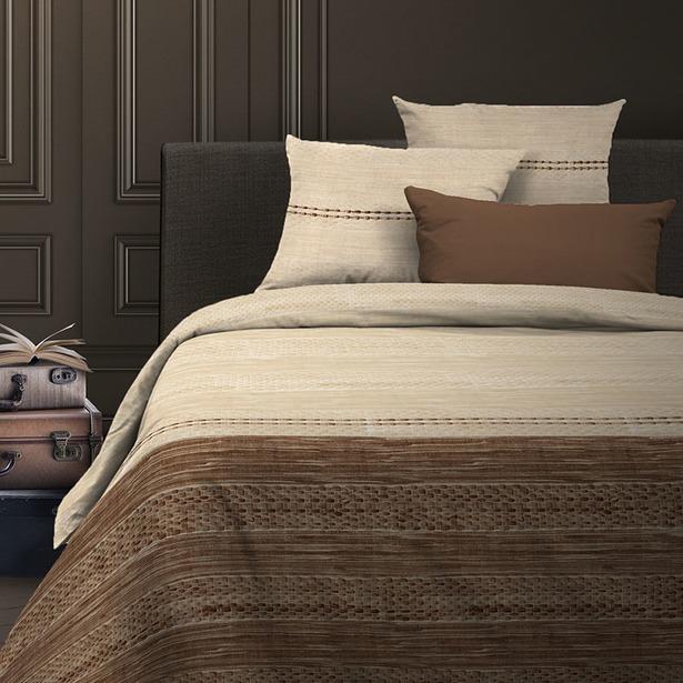 фото Комплект постельного белья Wenge Nature. Евро. Цвет: коричневый