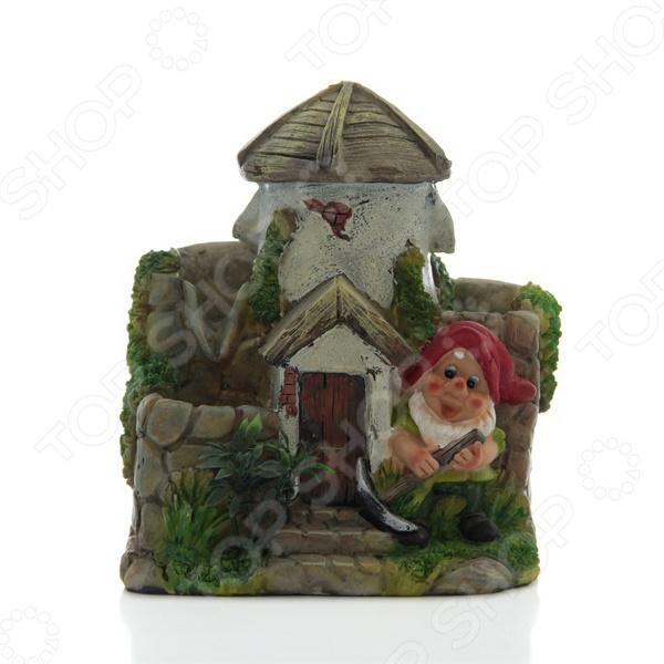 Фонтан декоративный «Гномик у домика» - артикул: 947726