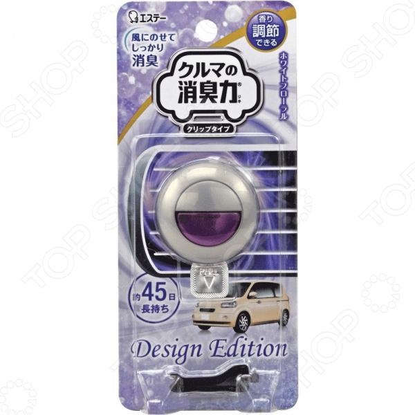 Освежитель воздуха для авто ST Design Edition с ароматом белых цветов кондиционер для белья mitsuei с ароматом белых цветов 2 л