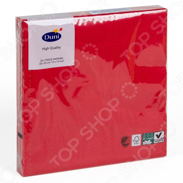 Салфетки бумажные Duni 104062