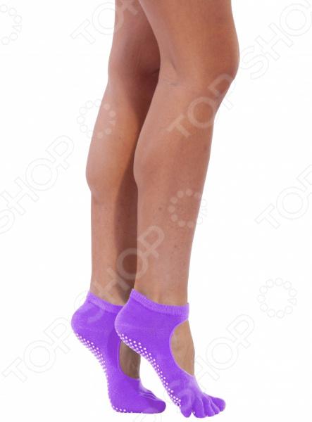 Носки противоскользящие Bradex для занятий йогой    /