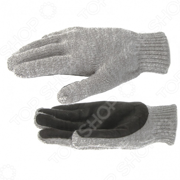 Перчатки трикотажные двойные полушерстяные СИБРТЕХ 68630 fit 68630