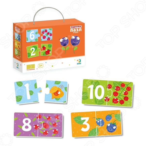 Пазл 12 элементов Vladi Toys «Ягодки»