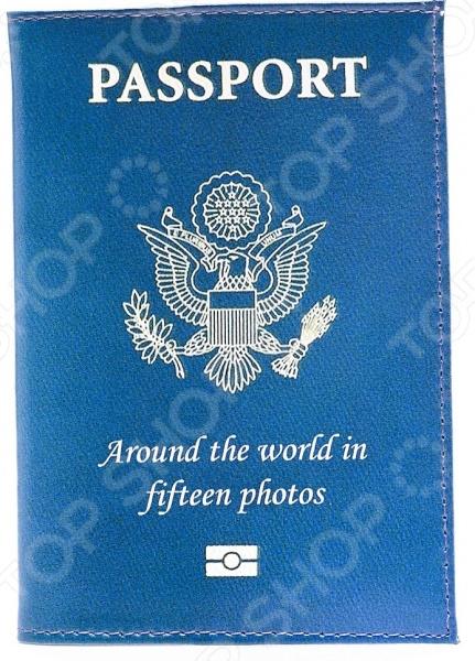 Обложка для автодокументов кожаная Mitya Veselkov Passport
