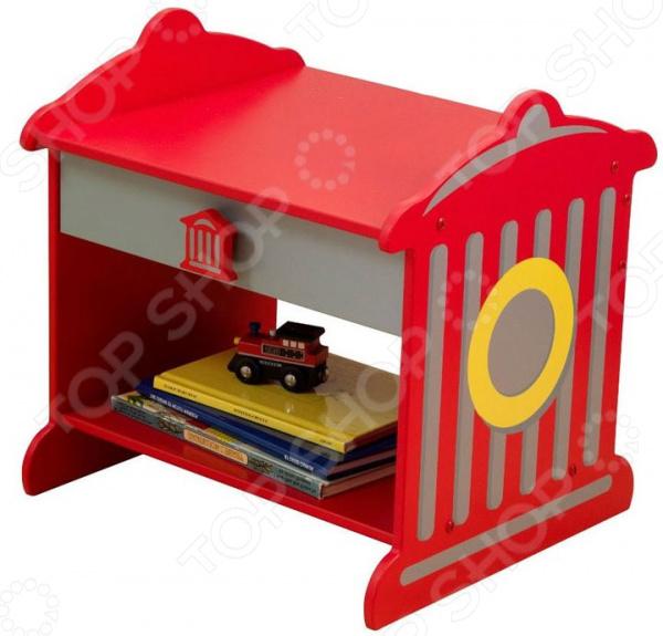Стол детский прикроватный KidKraft «Пожарная станция»