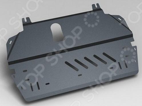Комплект: защита картера и крепеж Novline-Autofamily Lifan Smily 2008-2013: 1,3 бензин МКПП