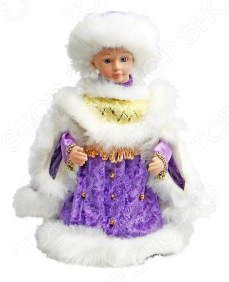 Игрушка под елку музыкальная Новогодняя сказка «Снегурочка» 972619 цены онлайн