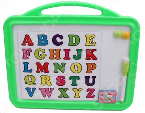 Доска для рисования магнитная Наша Игрушка «Английский алфавит»