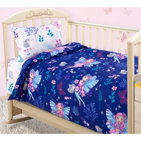 Купить Ясельный комплект постельного белья ТексДизайн «Лесные нимфы»