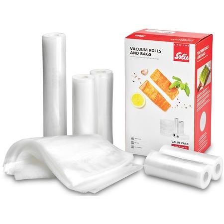 Купить Набор: рулоны и пакеты для вакуумного упаковщика Solis Value Pack
