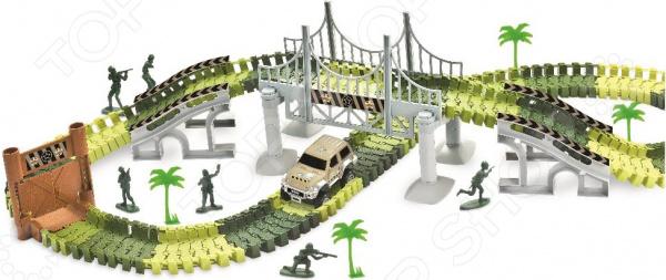 Конструктор - гоночный трек 1 Toy «Комбат»
