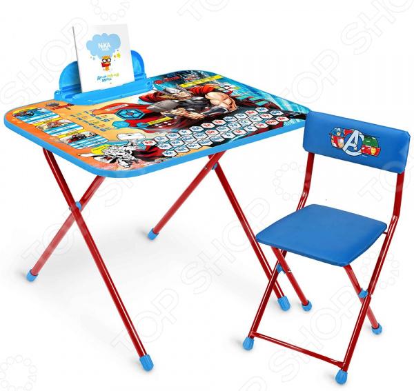 Набор мебели детский: стол и стул Ника Marvel «Тор»