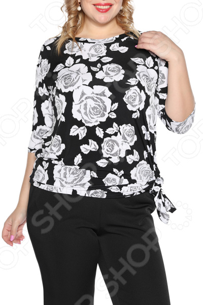 Туника VEAS «Модная особа». Цвет: черный
