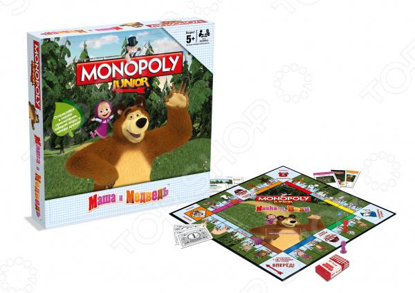 Настольная игра Hasbro «Монополия: Маша и Медведь» hasbro hasbro настольная игра монополия маша и медведь
