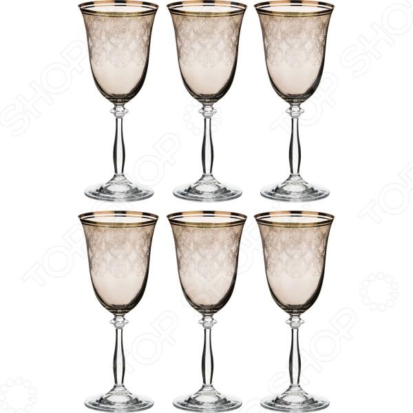Набор бокалов Bohemia Crystal «Анжела» 674-558