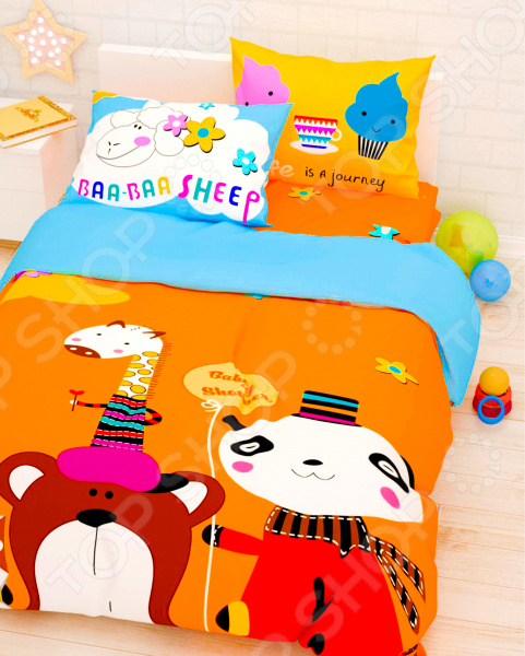 Детский комплект постельного белья Сирень «Прекрасный день» детский комплект постельного белья непоседа урок
