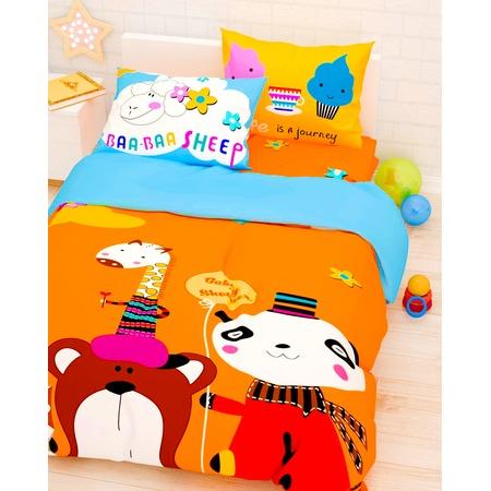 Купить Детский комплект постельного белья Сирень «Прекрасный день»