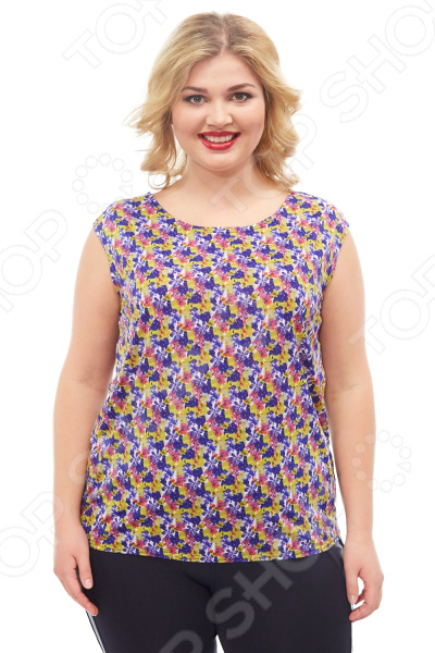 Блуза Элеганс «Верия». Цвет: желтый