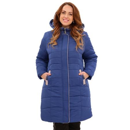 Купить Куртка «Солнечный морозный день». Цвет: светло-синий